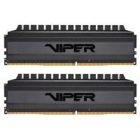 Модуль пам'яті для комп'ютера DDR4 32GB (2x16GB) 3200 MHz Viper 4 Blackout Patriot (PVB432G320C6K)
