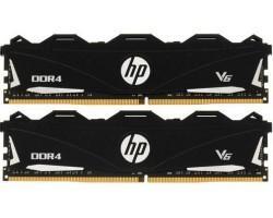 Модуль пам'яті для комп'ютера DDR4 2x8GB  HP V6 Black (7TE46AA#ABB)