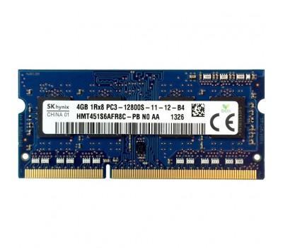 Модуль пам'яті для ноутбука SoDIMM DDR3 4GB 1600 MHz Hynix (HMT451S6AFR8C-PB)