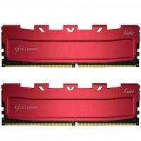 Модуль памяти для компьютера DDR4 16GB (2x8GB) 3466 MHz Kudos Red eXceleram (EKRED4163418AD)