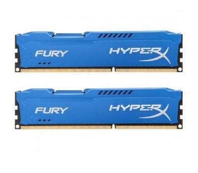 Модуль пам'яті для комп'ютера DDR3 16Gb (2x8GB) 1866 MHz HyperX Fury Blu Kingston (HX318C10FK2/16)