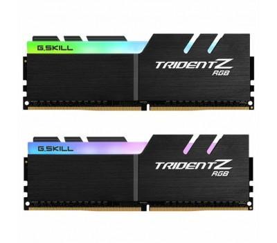 Модуль пам'яті для комп'ютера DDR4 32GB (2x16GB) 3200 MHz Trident Z RGB G.Skill (F4-3200C15D-32GTZR)