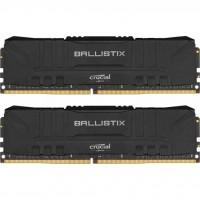 Модуль пам'яті для комп'ютера DDR4 32GB (2x16GB) 3000 MHz Ballistix Black MICRON (BL2K16G30C15U4B)