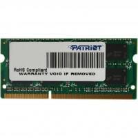 Модуль пам'яті для ноутбука SoDIMM DDR3 4GB 1600 MHz Patriot (PSD34G16002S)