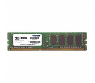 Модуль пам'яті для комп'ютера DDR3 8GB 1333 MHz Patriot (PSD38G13332)
