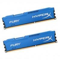 Модуль пам'яті для комп'ютера DDR3 8Gb (2x4GB) 1866 MHz HyperX Fury Blu Kingston (HX318C10FK2/8)
