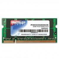 Модуль пам'яті для ноутбука SoDIMM DDR2 2GB 800 MHz Patriot (PSD22G8002S)