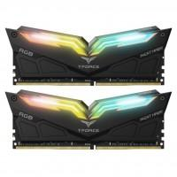 Модуль памяти для компьютера DDR4 16GB (2x8GB) 3200 MHz T-Force Night Hawk RGB Black Team (TF1D416G3200HC16CDC01)