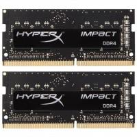 Модуль пам'яті для ноутбука SoDIMM DDR4 32GB (2x16GB) 2666 MHz HyperX Impact Kingston (HX426S15IB2K2/32)