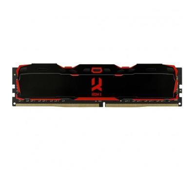 Модуль пам'яті для комп'ютера DDR4 8GB 2666 MHz IRDM Black GOODRAM (IR-X2666D464L16S/8G)