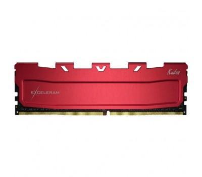 Модуль пам'яті для комп'ютера DDR4 8GB 3600 MHz Red Kudos eXceleram (EKRED4083618A)