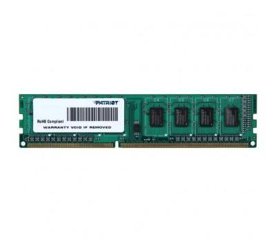 Модуль памяти для компьютера DDR3L 4GB 1600 MHz Patriot (PSD34G1600L81)
