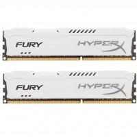 Модуль пам'яті для комп'ютера DDR3 8Gb (2x4GB) 1866 MHz HyperX Fury White Kingston (HX318C10FWK2/8)