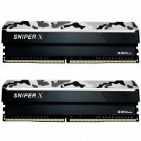 Модуль пам'яті для комп'ютера DDR4 16GB (2x8GB) 3000 MHz Sniper X G.Skill (F4-3000C16D-16GSXWB)