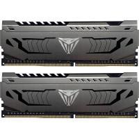 Модуль пам'яті для комп'ютера DDR4 8GB (2x4GB) 3200 MHz Viper Steel Gray Patriot (PVS48G320C6K)