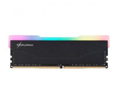 Модуль пам'яті для комп'ютера DDR4 8GB 3600 MHz RGB X2 Series Black eXceleram (ERX2B408369A)