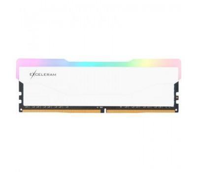 Модуль пам'яті для комп'ютера DDR4 8GB 3600 MHz RGB X2 Series White eXceleram (ERX2W408369A)