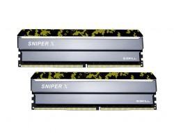 Модуль пам'яті для комп'ютера DDR4 8Gb x 2 (16Gb Kit), 3200 MHz, G. Skill Sniper X (F4-3200C16D-16GSXKB)