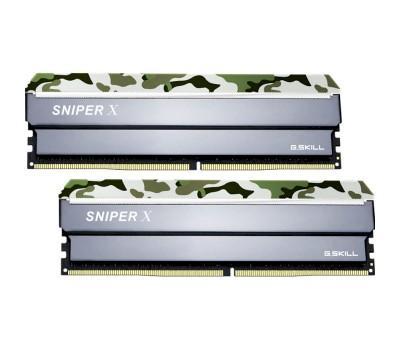 Модуль пам'яті для комп'ютера G.SKILL Sniper X Classic Camo DDR4 3200MHz 16GB Kit 2x8GB (F4-3200C16D-16GSXFB)