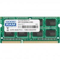 Модуль пам'яті для ноутбука SoDIMM DDR3 8GB 1333 MHz GOODRAM (GR1333S364L9/8G)