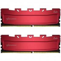Модуль памяти для компьютера DDR4 16GB (2x8GB) 3600 MHz Red Kudos eXceleram (EKRED4163618AD)