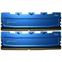 Модуль памяти для компьютера DDR4 16GB (2x8GB) 2400 MHz Blue Kudos eXceleram (EKBLUE4162417AD)