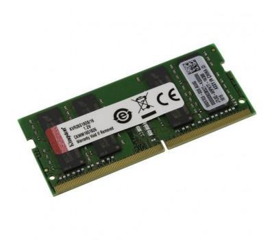 Модуль пам'яті для ноутбука SoDIMM DDR4 16GB 2666 MHz Kingston (KVR26S19D8/16)
