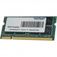 Модуль памяти для ноутбука SoDIMM DDR3 4GB 1333 MHz Patriot (PSD34G13332S)