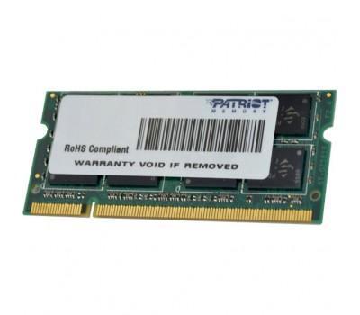 Модуль пам'яті для ноутбука SoDIMM DDR3 4GB 1333 MHz Patriot (PSD34G13332S)