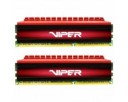 Модуль пам'яті для комп'ютера DDR4 32GB (2x16GB) 3200 MHz Viper 4 Red Patriot (PV432G320C6K)