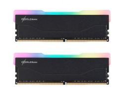 Модуль пам'яті для комп'ютера DDR4 16GB (2x8GB) 3600 MHz RGB X2 Series Black eXceleram (ERX2B416369AD)