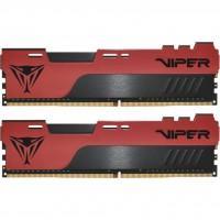Модуль пам'яті для комп'ютера DDR4 2x16GB/3200 Patriot Viper Elite II Red (PVE2432G320C8K)