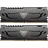 Модуль памяти для компьютера DDR4 16GB PC4-28800 (3600MHz) Patriot Viper Steel (2x8GB) (PVS416G360C8K)