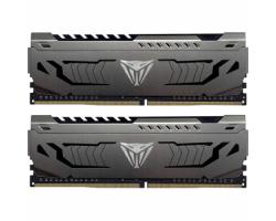 Модуль пам'яті для комп'ютера DDR4 16GB PC4-28800 (3600MHz) Patriot Viper Steel (2x8GB) (PVS416G360C8K)