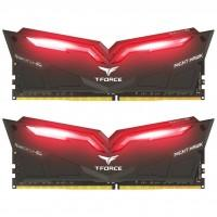 Модуль памяти для компьютера DDR4 32GB (2x16GB) 3200 MHz T-Force Night Hawk Red LED Team (THRD432G3200HC16CDC01)