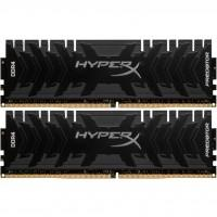 Модуль пам'яті для комп'ютера DDR4 16GB (2x8GB) 3600 MHz HyperX Predator Black Kingston (HX436C17PB4K2/16)