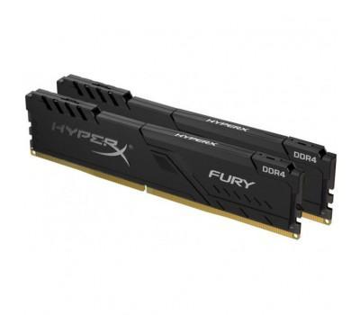 Модуль пам'яті для комп'ютера DDR 8GB (2x4GB) 2400 MHz HyperX Fury Black Kingston (HX424C15FB3K2/8)