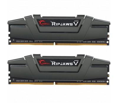 Модуль памяти для компьютера DDR4 16GB (2x8GB) 3200 MHz RipjawsV G.Skill (F4-3200C16D-16GVGB)
