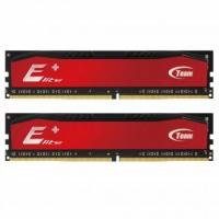 Модуль пам'яті для комп'ютера DDR4 8GB (2x4GB) 2400 MHz Elite Plus Red Team (TPRD48G2400HC16DC01)