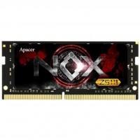 Модуль памяти для ноутбука SoDIMM DDR4 8GB 3000 MHz NOX Series Apacer (EV.08G2Z.GGE)