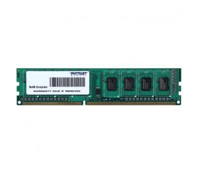 Модуль пам'яті для комп'ютера DDR3 4GB 1600 MHz Patriot (PSD34G160081)