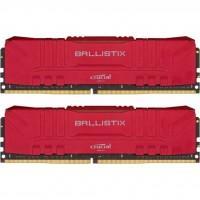 Модуль памяти для компьютера DDR4 32GB (2x16GB) 3200 MHz Ballistix Red MICRON (BL2K16G32C16U4R)
