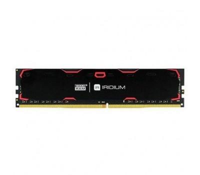Модуль памяти для компьютера DDR4 16GB 2400 MHz Iridium Black GOODRAM (IR-2400D464L17/16G)