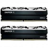 Модуль пам'яті для комп'ютера DDR4 32GB (2x16GB) 3200 MHZ SniperX Urban Camo G.Skill (F4-3200C16D-32GSXWB)