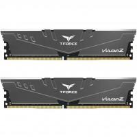 Модуль пам'яті для комп'ютера DDR4 16GB (2x8GB) 2666 MHz T-Force Vulcan Z Gray Team (TLZGD416G2666HC18HDC01)