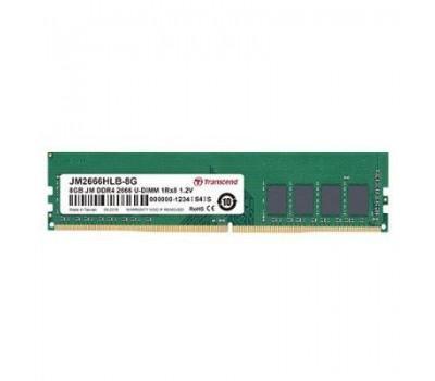 Модуль пам'яті для комп'ютера DDR4 16GB 2666 MHz Transcend (JM2666HLE-16G)