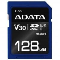 Карта пам'яті ADATA 128GB SDXC class 10 UHS-I U3 V30 (ASDX128GUI3V30S-R)