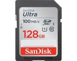 Карта пам'яті SANDISK 128GB SDXC class 10 UHS-I Ultra (SDSDUNR-128G-GN6IN)