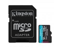 Карта пам'яті Kingston 128GB microSDXC class 10 UHS-I U3 A2 Canvas Go Plus (SDCG3/128GB)