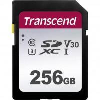 Карта пам'яті Transcend 256GB SDXC class 10 UHS-I (TS256GSDC300S)